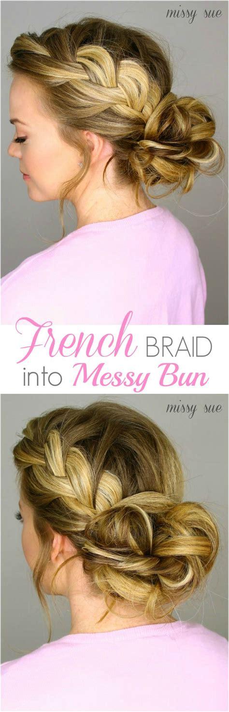 french braid bun on empire 1361 best images about hair tutorials on pinterest dutch