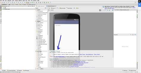 android studio layout rendering problems android studio cannot render floatingactionbutton