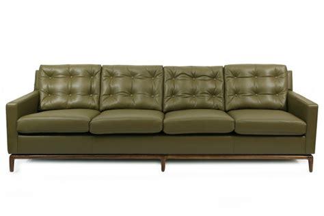 leather sofa green fern green leather walnut sofa modern furniture