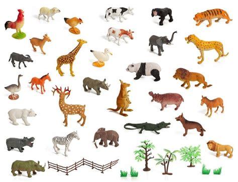 Animal Set set of 30 large size zoo set jungle farm desert