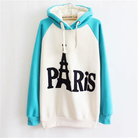 lettering hooded top embroidered letters fashion hooded top sweater hoodie a