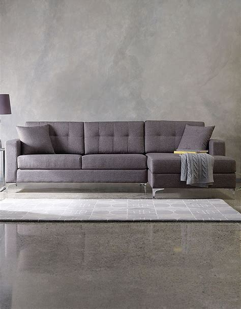 track sectionals home furniture jorge 107 quot sectional sofa with track