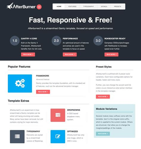 joomla template engine top joomla 3 templates free and professional responsive