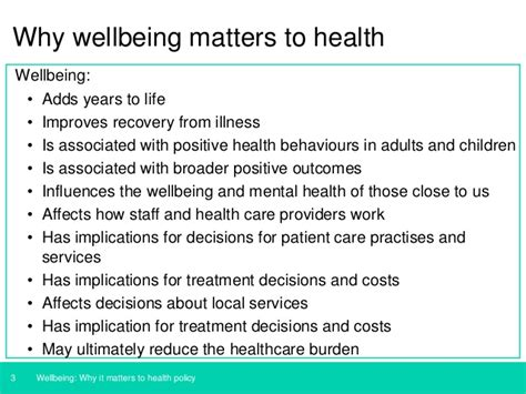 u k government wellbeing why it matters to health policy
