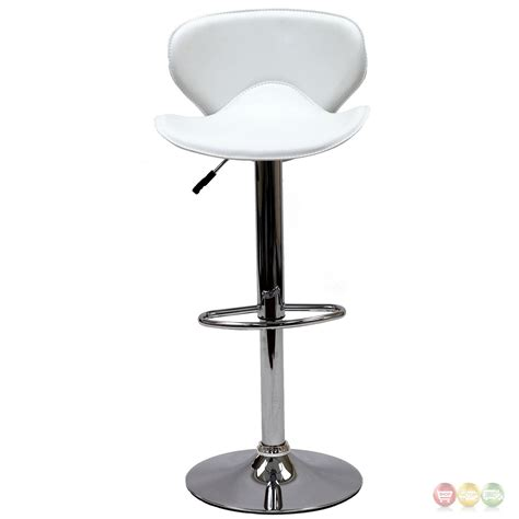 Booster Seat For Stool by Booster Modern Ergonomic Winged Bar Stool W Chrome Base