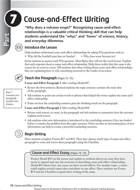 How To Write Cause And Effect Essay by Awesome How To Write A Cause Effect Essay Definition Writing Steps Structure Courses