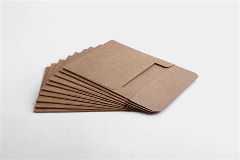 How To Make A Paper Cd Sleeve - free shipping 10 pcs high quality kraft paper cd