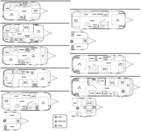 vintage airstream floor plans airstream floor plans 2017 airstream sport floorplans specs airstreamcom airstream