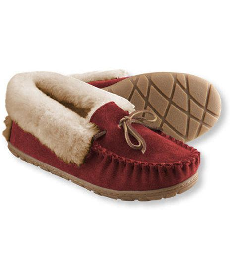 llbean slippers s moccasins slippers from l l bean inc