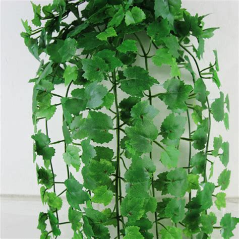 Ivy Home Decor by 1pc 8 2 Feet Artificial Ivy Leaf Hanging Leaves Plants
