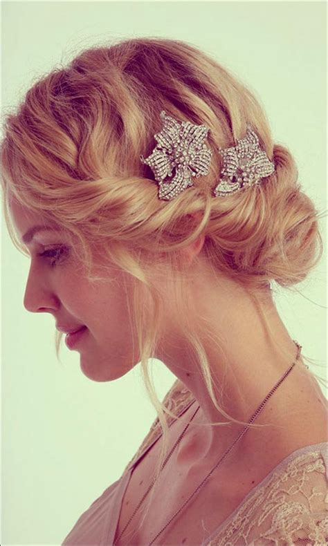 Wedding Hairstyles On The Side For Hair by Bridal Hairstyles For Medium Hair 32 Looks Trending This
