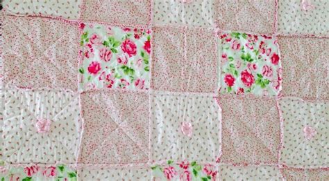 Rag Puff Quilt by Rag And Puff Throw Quilt Susies Scraps