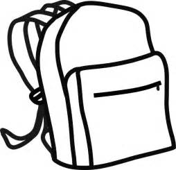 coloring backpack rucksack coloring pages