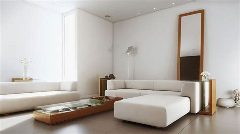 Simple Furniture Design For Living Room White Simple Living Room With Wood Furniture Inspirations Interior Design Ideas