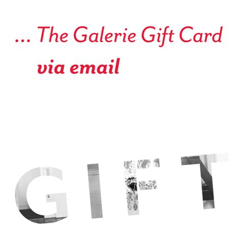 Gift Cards Through Email - the galerie gift card the galerie fitzroy original vintage posters melbourne