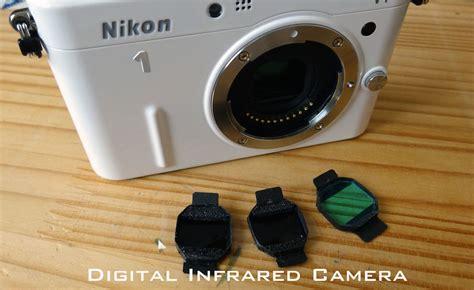 赤外線撮影デジタルカメラ digital infrared 赤外線 nikon 1 v1 フィルター3種交換式