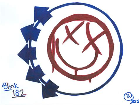 drawing blink 182 logo blink 182 logo colored drawing by echelonmars14 on deviantart