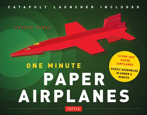 paper planes books one minute paper airplanes kit book summary