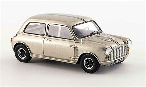 Diecast Miniatur Mobil Morris Mini Cooper 1275s Mk 1 Mokit Green mini cooper sprint 1969 spark diecast model car 1