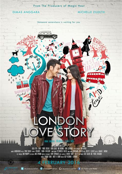 film london love story instagram baru 5 hari tayang london love story gaet 400 ribu