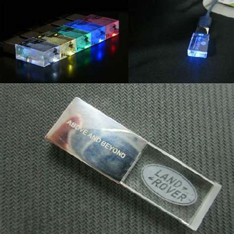 Usb Flash Disk With Led And Laser by Led Usb Drives With Logo Engraved