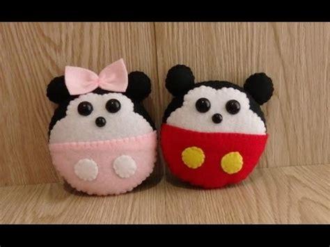 Celengan Minnie Dan Mickey Mouse Mickey Dan Minnie Mouse Dari Kain Flanel