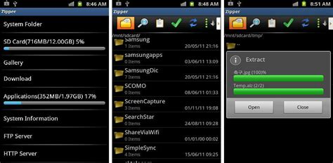 zip file opener for android best android apps for zip and rar files