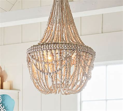 Francesca Beaded Chandelier Pottery Barn