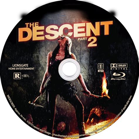 The B Part 2 by The Descent Part 2 Custom Dvd Labels The Descent Part