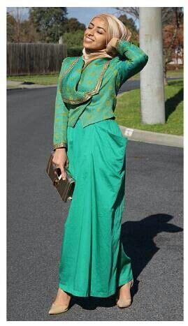 Green Tosca green tosca kebaya islamic fashion