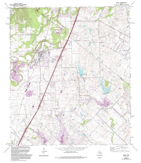 map of buda texas buda topographic map tx usgs topo 30097a7