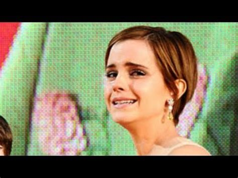 emma watson crying crying celebrities 8 more stars that have turned on the