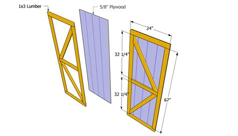 Door Shed Plans by Free Plans For Building A Shed Door Easy Shed Plans