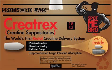 creatine 2g per day creatrex suppositories the world s rectal creatine