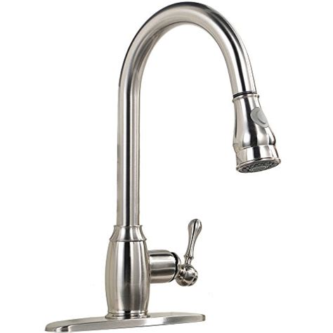 single handle the best kitchen faucet