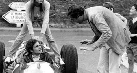 francoise hardy biggest hit on the set of grand prix pit stop with fran 231 oise hardy