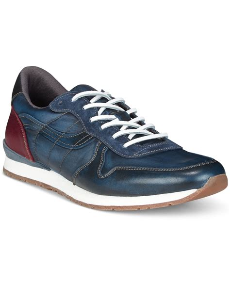 Mens Style M162 Kenneth Navy Diskon 15 kenneth cole reaction s guide the way sneakers in blue