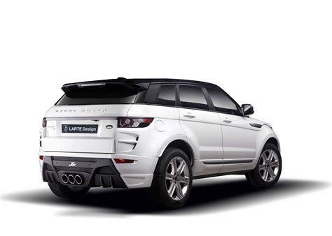 range rover modified larte design range rover evoque modified autos world blog