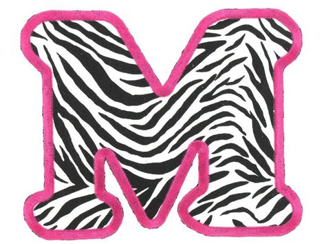 printable zebra striped letters free letter n zebra print coloring pages