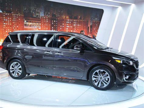New Kia Truck Must See Vans Minivans Of The 2015 Detroit Auto Show