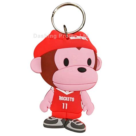 franks keychain paul frank rubber keyring dashing promo ltd