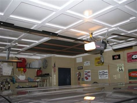 coffered garage ceiling by ferstler lumberjocks com