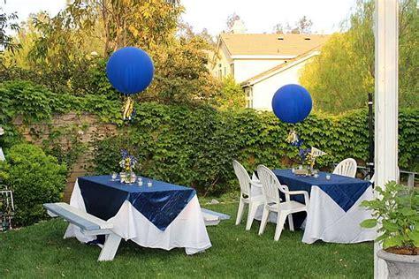 triyae ideas for backyard graduation various