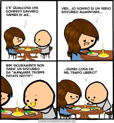 disturbo alimentare fritte cyanide happiness ita