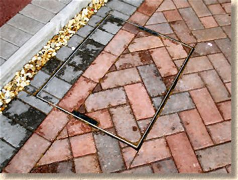 Patio Slabs For Sale Pavingexpert Recessed Tray Covers For Manholes And