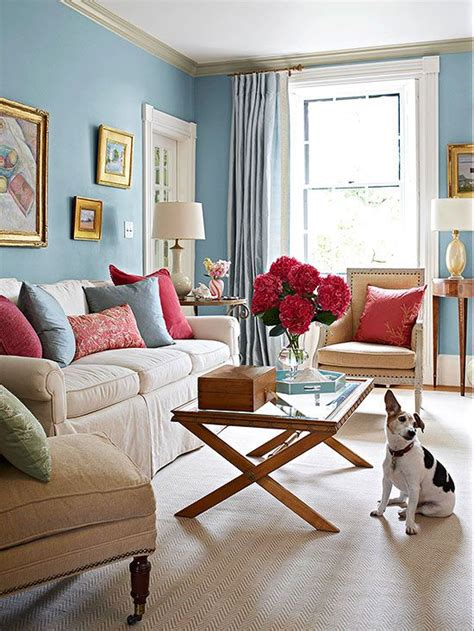 Blue And Coral Living Room by Pillow Talk Archives Banarsi Designs