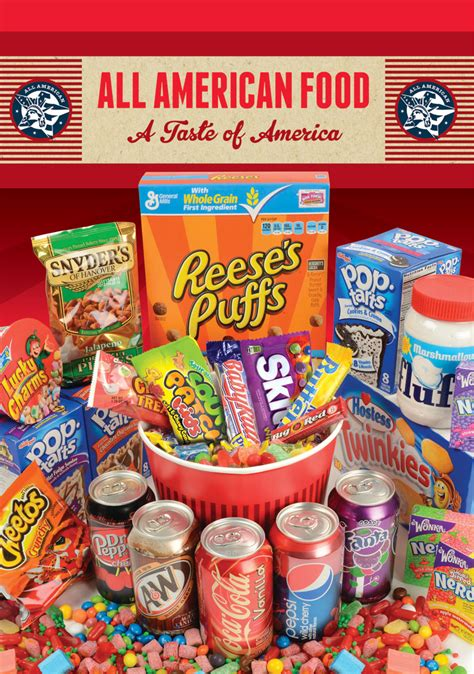 all food all american food plain creative