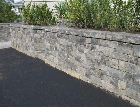 Garden Wall New Zealand Boundary Walls Auckland Stonemasons Walls Rock