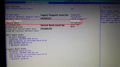 hp reset bios key solved different bios the insydeh20 hp support forum