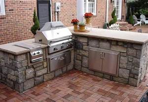 outdoor kitchen island components l shaped outdoor